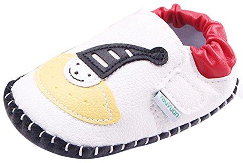 La Vogue Zapatos para Bebe Infantil Primeros Pasos Modelo 1 Blanco Talla 11cm