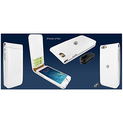 PIELFRAMA 689W Magnetic Case Apple iPhone 6 Plus in weiß