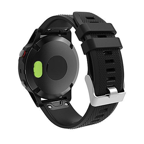 LDFAS Fenix 5 / 5S / 5X Charger Port Protector, Silicone Dust Plug Anti dust Plugs for Garmin Fenix 5S/5/5X/Vivoactive 3/Vivosport/Forerunner 935/Approach S60/D2 Charlie/Quatix 5 Smartwatch(10 PACK)
