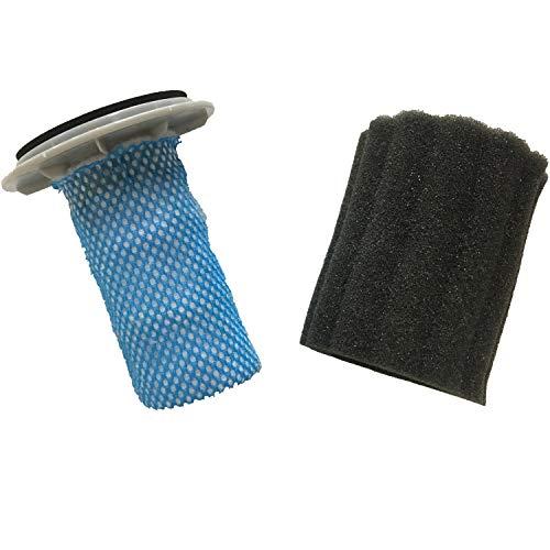 Eureka Powerplush 2-in-1 Cordless Vacuum Cleaner Washable Foam and Fiber Filters, 1 Pack, ()