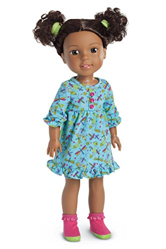 American Girl WellieWishers Fantastic Firefly PJs Doll Outfit -