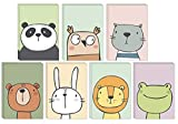 49 Eco-Friendly Blank Animal Greeting Cards Made from Recycled Card with Green Recycled Envelopes