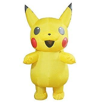 Amazon.com: Disfraz de Pikachu disfraz Cosplay de Halloween ...