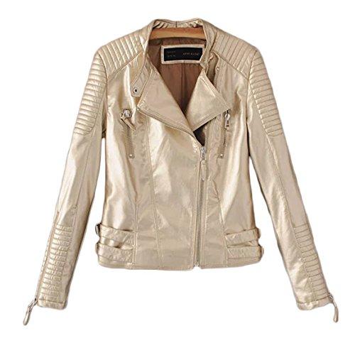 Gold Leather Jacket - 6