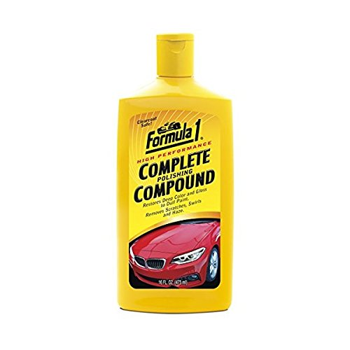 Formula 1 Car Polish - Formula 1 High-Performance Complete Polishing Compound – Restores Color and Gloss
