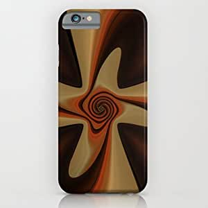 Society6 - Abstract Retro Flower iPhone 6 Case by Christine Baessler