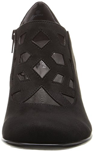 Boot Aerosoles Black Women's Fabric Petroleum qAAUEg