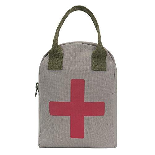 Fluf Zipper Lunch Bag, Organic Cotton (Organic Cotton Zipper Bags)