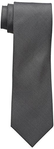 Cole Tie - Kenneth Cole REACTION Men's Pixel Solid Tie, Black, One Size