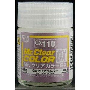GX110 Clear Silver 18ml GSI Mr. Color GX