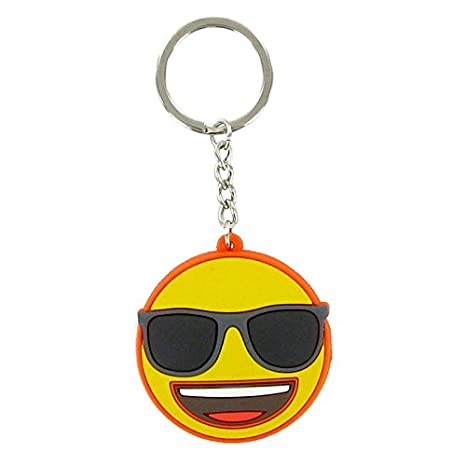 STOR Llavero Emoji cara gafas de sol: Amazon.es: Oficina y ...