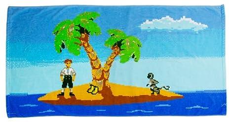 Stern & Schatz GmbH getDigital 7352 Monkey Island - Toalla de baño