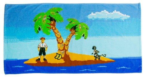 De 72 nbsp;cm Getdigital 140 Monkey Island Bain nbsp;x Serviette wOqTOFP