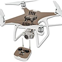 Skin For DJI Phantom 4 Quadcopter Drone – Alpacalypse | MightySkins Protective, Durable, and Unique Vinyl Decal wrap cover | Easy To Apply, Remove, and Change Styles | Made in the USA