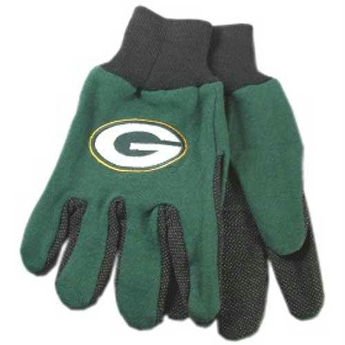 Green Bay Packers NFL Two Tone Gloves ()