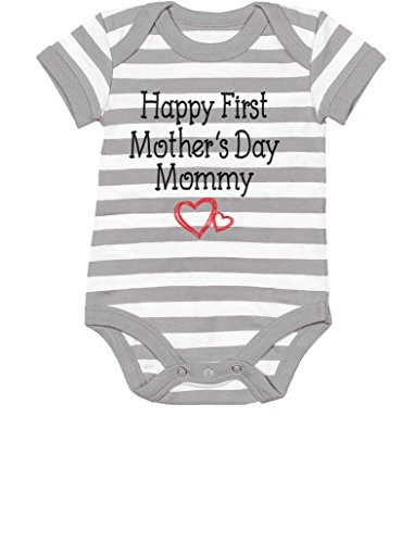 TeeStars Happy First Mothers Bodysuit product image