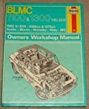 img - for BLMC. 1100 and 1300 Owner's Workshop Manual by J. H. Haynes (1977-06-06) book / textbook / text book