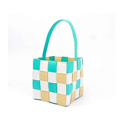 Easter Basket for Kids Bunny Bag for Easter Hunt-Storage Bin