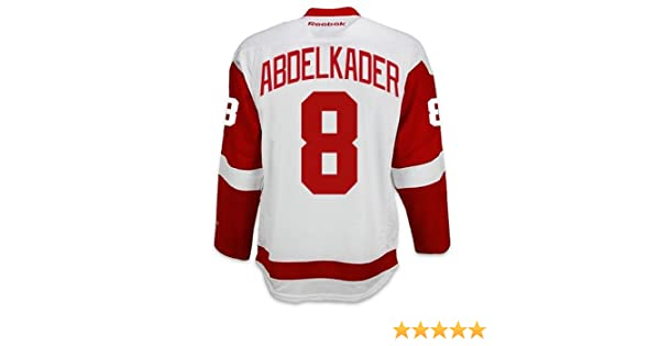 Amazon.com   Justin Abdelkader Detroit Red Wings Reebok Premier Away Jersey  NHL Replica   Sports   Outdoors 147a7dd6d