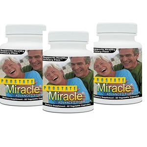 3 pack Prostate Miracle Advanced Formula (The Best Prostate Formula)