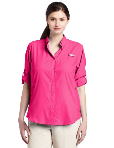 Columbia Women's Plus-Size Tamiami II Long Sleeve Shirt, Bri