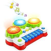 NextX Teclado de Piano para niños - Juguetes Musicales para bebés para niños de 6 Meses - Piano Seguro y Funcional para…
