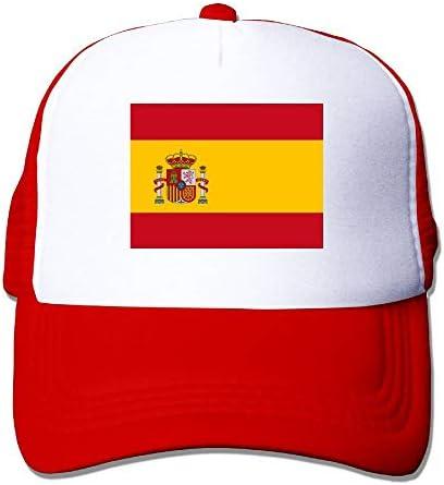 Gorras de béisbol Bandera española Gorras de Malla Sombrero ...