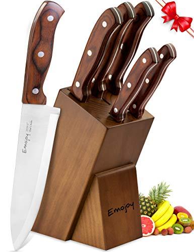 Kitchen Knife Set, 6-Piece Knife Block Set Only $23.08 (Was $119.99)