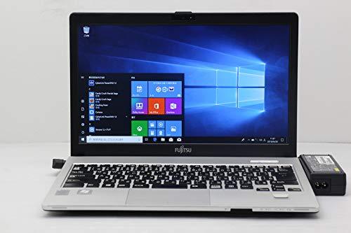 【中古】 富士通 LIFEBOOK S904/J Core i5 4300U 1.9GHz/4GB/128GB(SSD)/Multi/13.3W/FHD(1920x1080)/Win10   B07R6W4CCQ