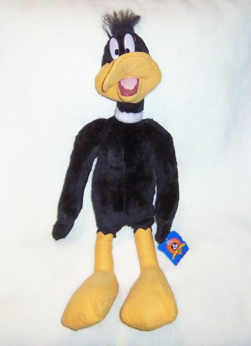 Play-By-PLay Looney Tunes 22'' Plush Stuffed Standing Daffy Duck by Looney Tunes