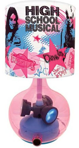KNG America 001152 KNG Disney's High School Musical Animated Lamp, 9,2