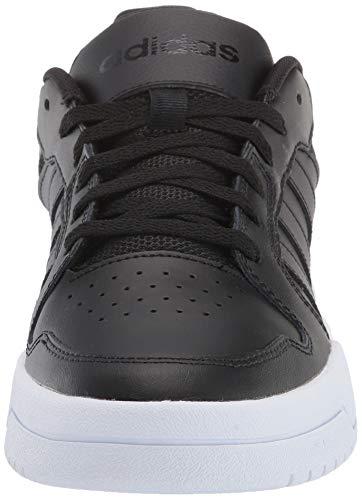 adidas Men's Entrap Sneaker, core Black/core Black/FTWR White, 8.5