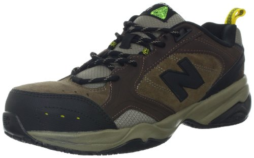 New Balance Men's MID627 Steel Toe Work Shoe,Brown,10 D US