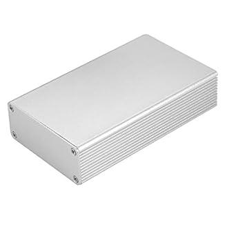 uxcell - Caja electrónica de aluminio para radiador de disipador ...