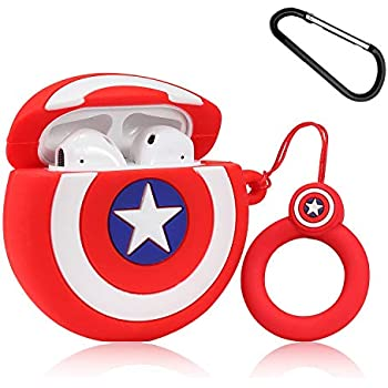 Amazon.com: Lupct (Spider & Bat) Case for Airpods 1/2 Cute