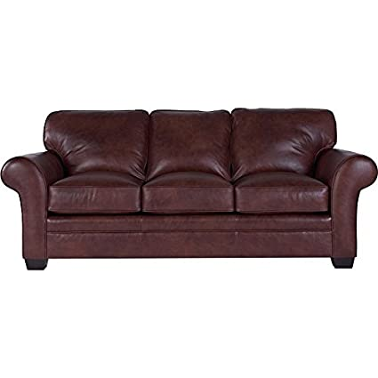 Beau Broyhill Zachary Leather Loveseat.(Sofa Shown) Top Grain Leather.L7902 1Q