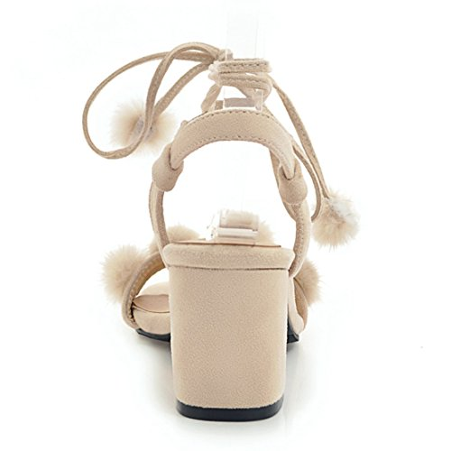 Caviglia Cinturino Donna Aiyoumei Beige Alla qEd64