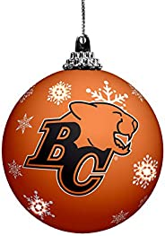 The Sports Vault Led Light Up Ball Ornament Bc Lions