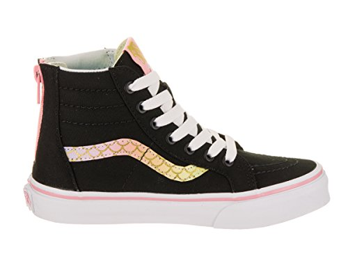 156e3bc373a59b Vans Kids Sk8-Hi Zip (Mermaid) Skate Shoe