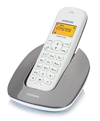 Audioline 904258 Switch 200 schnurloses DECT/GAP Telefon