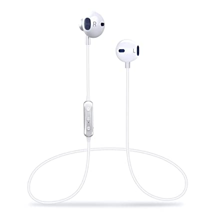 9420b23b669 Wireless Headphones, [140 Hours Stand-by Time] 4.1 Magnetic Bluetooth  Earbuds,