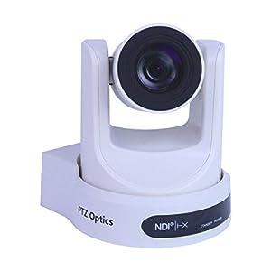 PTZOptics 30X NDI Network Broadcast Camera White