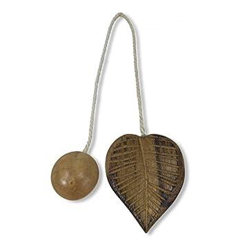 Aimant ferme Rideau en bois aimants pour rideaux legatende Feuille ...