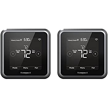 Honeywell RCHT8610WF2006 Lyric T5 Wi-Fi Smart 7 Day Programmable Touchscreen Thermostat with Geofencing,