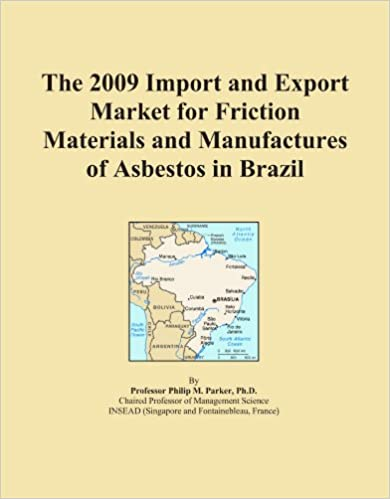 The 2009 Import and Export Market for Friction Materials and Manufactures of Asbestos in Brazil
