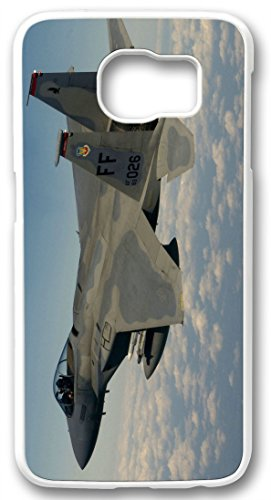 r Jet Ssgt Samuel Rogers Case for Samsung Galaxy S6 PC Material White(Compatible With Verizon,AT&T,Sprint,T Mobile,Unlocked,Internatinal) ()