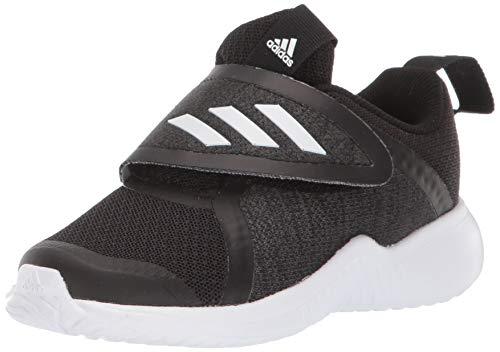 adidas Baby Fortarun X Cloudfoam Running Shoe, White/Black, 10K M US Toddler (Adidas Neo V Jog Infant & Toddler Sneaker)