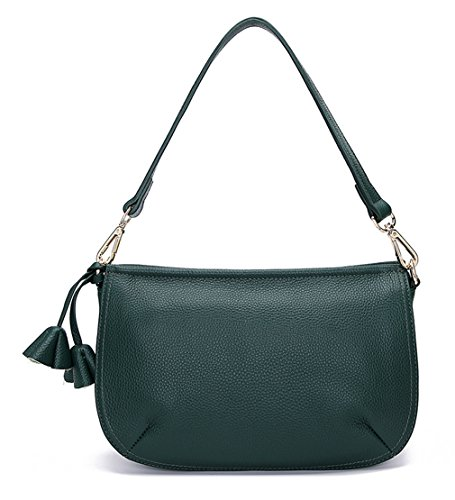 Layer Designer SAIERLONG Green First Bags Bags Leather Dark Ladies Womens Of Shoulder Cross Body Z4afwHqa
