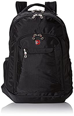 Swiss Gear SA9998 Black Laptop Backpack - Fits Most 15 Inch Laptops and Tablets by group III