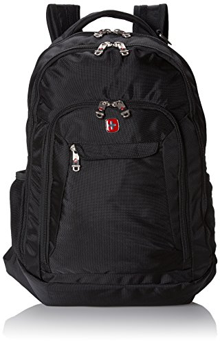 Swiss Gear SA9998 Black Laptop Backpack - Fits Most 15 Inch Laptops and  Tablets 399b10ab04bbc